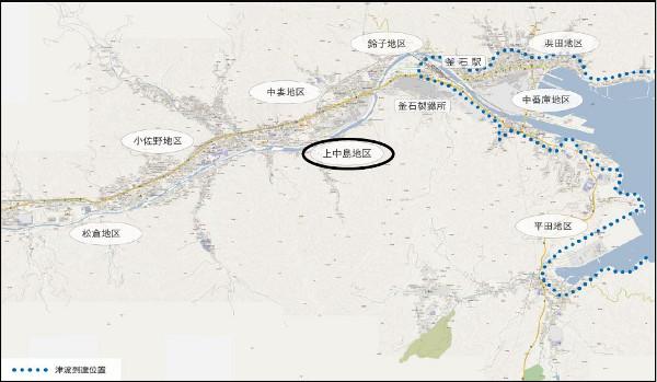 釜石市全図